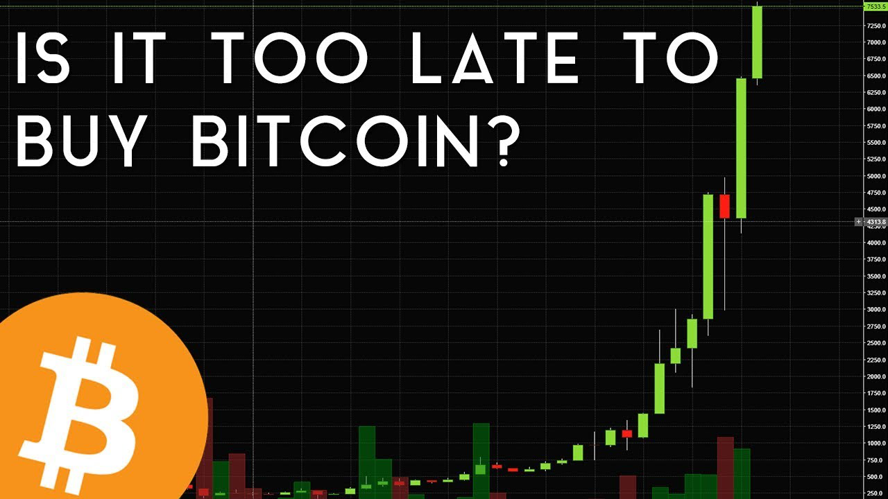Is it Too Late to Buy Bitcoin