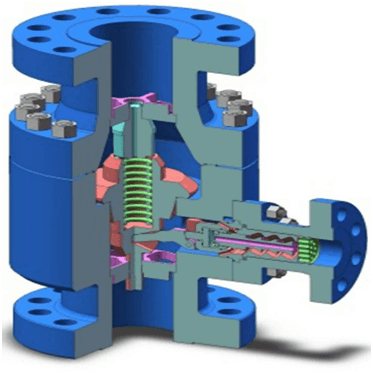 inside Automatic Recirculation Valve