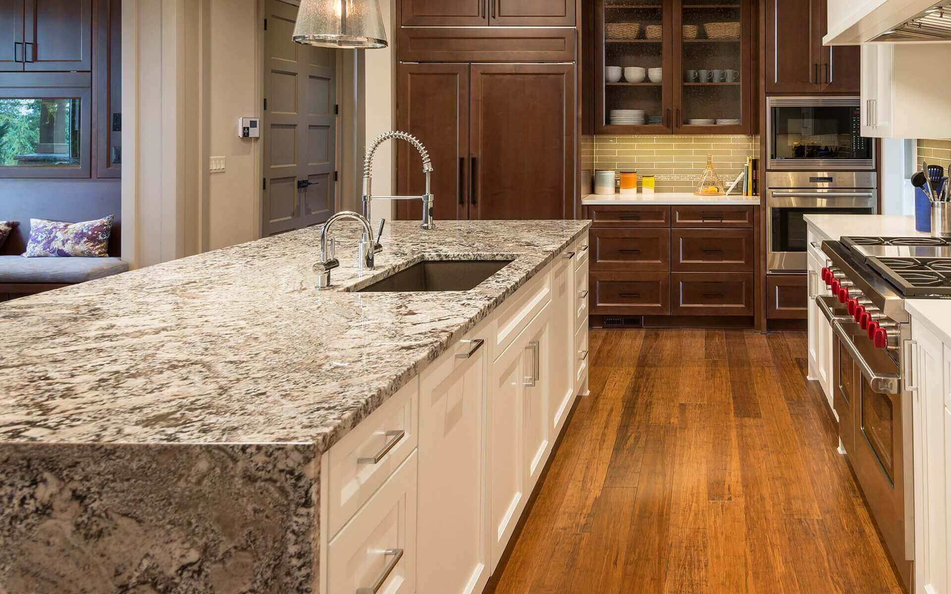multi colors quartz countertops for kitchen
