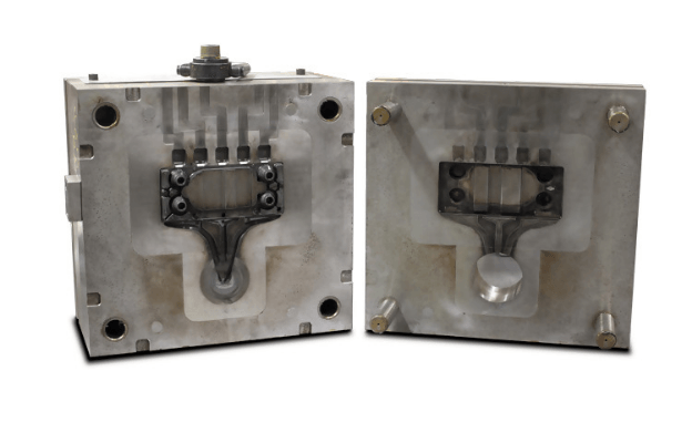 Mold design as in die casting